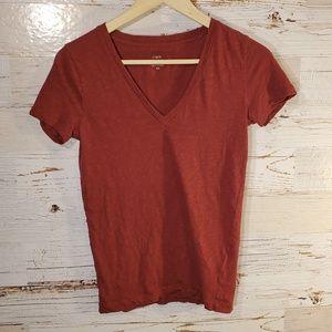 J Crew vintage cotton short sleeve tee